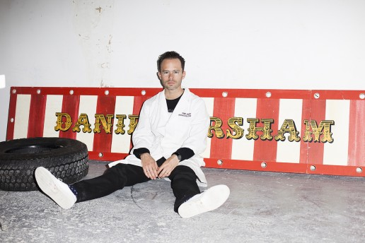 photo photography of Daniel Arsham at Snarkitecture design studio in New York taken by American Dreaming design agency Philadelphia