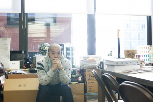 Photography of Jeff Staple of Staple Design shot by American Dreaming design agency